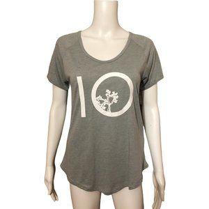 Ten Tree Grayish Green T-shirt Top